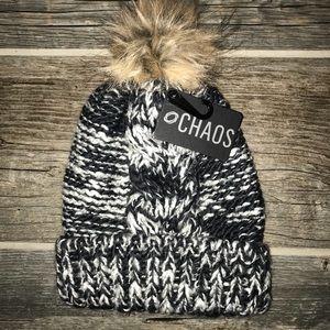 Winter Hat with Pom Pom NWT